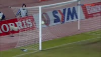 Lazaros Christodoulopoulos scores in the match Iraklis vs AEK