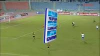 Jorge Monteiro scores in the match Iraklis vs AEK