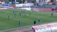 Mathieu Gomes scores in the match Kerkyra vs Levadiakos