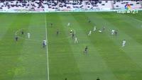 Alvaro Vadillo scores in the match Cordoba vs Huesca