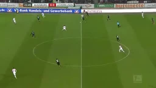 Augsburg Bayer Leverkusen goals and highlights