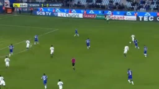 CA Bastia Monaco goals and highlights