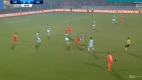 Slawomir Peszko scores in the match Termalica Bruk-Bet vs Lechia Gdansk