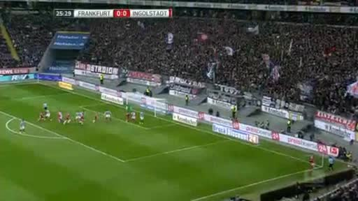Eintracht  Frankfurt Ingolstadt goals and highlights