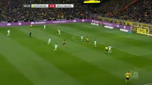 Borussia Dortmund Wolfsburg goals and highlights