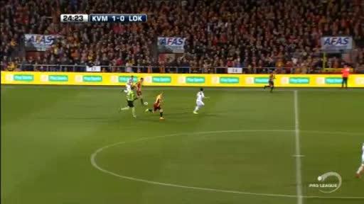 Mechelen Lokeren goals and highlights