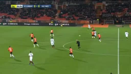 Lorient Nice goals and highlights