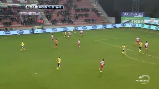 Mouscron Peruwelz Waasland goals and highlights