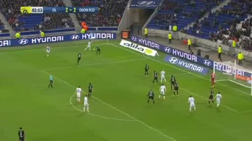 Lyon Dijon goals and highlights