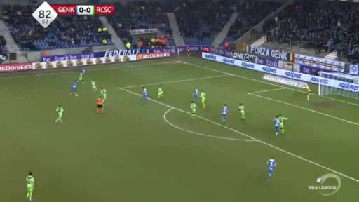 Genk Charleroi goals and highlights