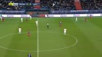 Ronny Rodelin scores in the match Caen vs Nancy