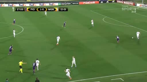 Fiorentina Borussia Moenchengladbach goals and highlights