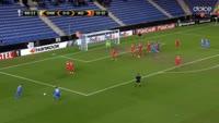 Alejandro Pozuelo scores in the match Genk vs FC Astra