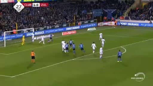Club Brugge Waregem goals and highlights