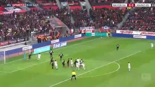 Bayer Leverkusen Mainz goals and highlights