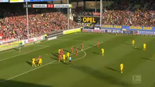 Freiburg Borussia Dortmund goals and highlights