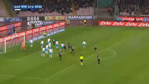 Napoli Atalanta goals and highlights