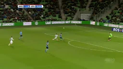Groningen Utrecht goals and highlights