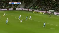 Giovanni Troupee scores in the match Groningen vs Utrecht