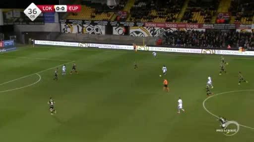 Lokeren Eupen goals and highlights
