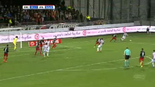 Excelsior Willem II goals and highlights