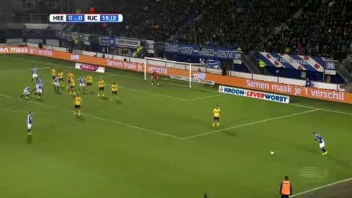 Heerenveen Roda goals and highlights