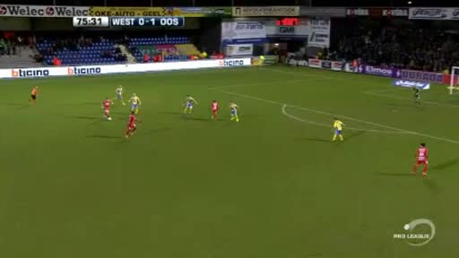 Westerlo Oostende goals and highlights