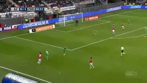 Alkmaar Zwolle goals and highlights
