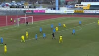 Armin Hodzic scores in the match Cibalia vs Din. Zagreb