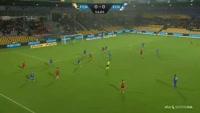 Emiliano Marcondes scores in the match Nordsjaelland vs FC Copenhagen