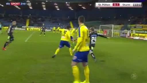 St. Polten Sturm Graz goals and highlights