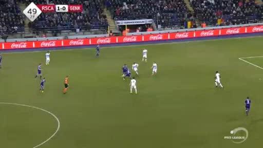 Anderlecht Genk goals and highlights