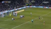 Mohamed Diame scores in the match Brighton vs Newcastle Utd