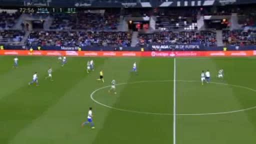 Malaga Betis goals and highlights