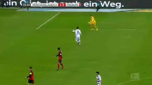 Borussia Moenchengladbach Freiburg goals and highlights
