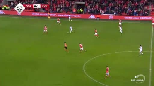 Standard Liege Kortrijk goals and highlights