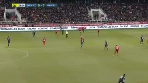 Dijon PSG goals and highlights