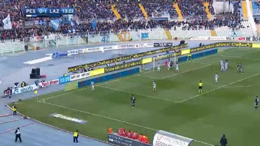 Pescara Lazio goals and highlights