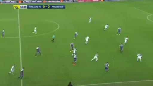 Toulouse Angers goals and highlights