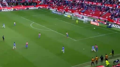 Gijon Alaves goals and highlights