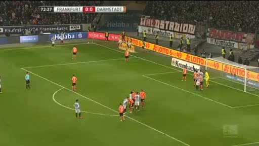 Eintracht  Frankfurt Darmstadt 98 goals and highlights