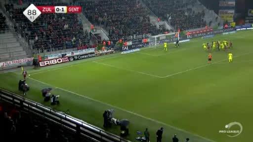 Waregem Gent goals and highlights