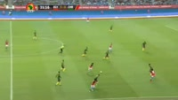 Mohamed Elneny scores in the match Egypt vs Cameroon