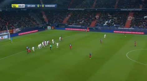 Caen Bordeaux goals and highlights