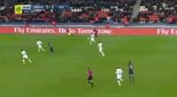 Lucas Rodrigues Moura da Silva scores in the match Paris SG vs Lille