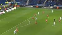 Memphis Depay scores in the match Lyon vs Nancy