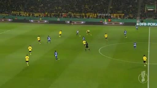 Borussia Dortmund Hertha Berlin goals and highlights