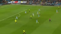 Harry Bunn scores in the match Manchester City vs Huddersfield