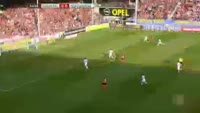 Maximilian Philipp misses penalty in the match Freiburg vs Hoffenheim