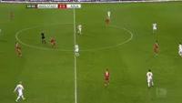 Anthony Modeste scores in the match Ingolstadt vs Koln